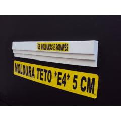 MOLDURA TETO E4 *5CM* Branco