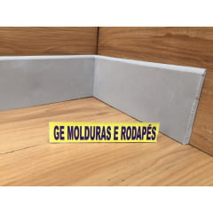 Rodapé GUARATUBA 7 CM X 5 MM Cinza