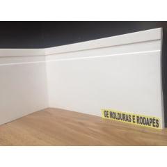 Rodapé Eva Maresia 15 CM x 1,00 CM Branco