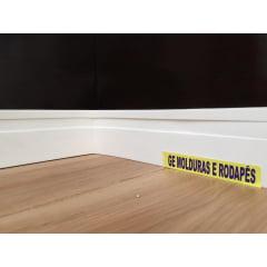 Rodapé EVA Maresia 7 cm x 1,50 cm Branco